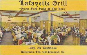 South Carolina Walterboro Lafayette Grill