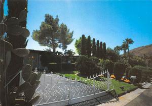 Former home of Marilyn Monroe when she lived on Rose Street Palm Springs, Cal...
