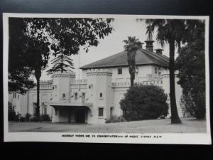 Australia: SYDNEY Conservatorium of Music Old RP PC