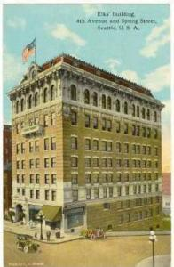 Elks Building, 4th Avenue and Spring Street, Seattle, U.S.A. Washington,  00-10s