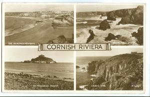 United Kingdom, Cornish Riviera, multi view 1953 used RP