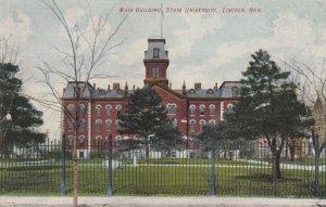 LINCOLN, Nebraska , 00-10s ; Main Building State University