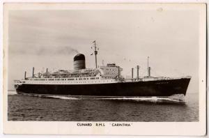 Cunard RMS Carinthia