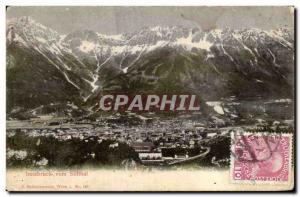 Old Postcard Innsbruck vom Sillthat