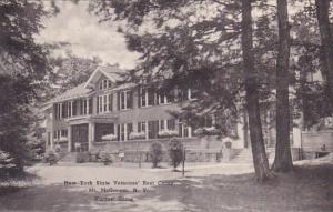 New York Mount Mcgregor New York State Veterans Rest Camp Nurses Home Albertype