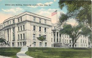 Liberal Arts Building University of Iowa Iowa City, IA PC