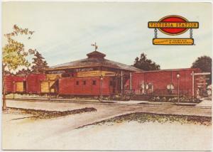VICTORIA STATION, Restaurants, unused Postcard