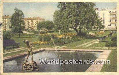 Gunilloparken, Halmstad Sweden Postal Used Unknown