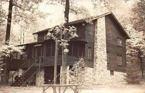 LPS87 Harrisburg Pennsylvania Luellwood Cabin Postcard RPPC