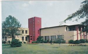 GREENVILLE, South Carolina; Adminstration Building, Bob Jones University, 40-60s