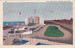 Illinois Chicago 1933 World Fair The Chrysler Motors Building 1933