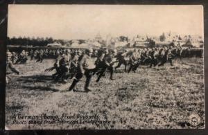 Mint USA Real Picture Postcard German Charge Fixed Bayonets In France