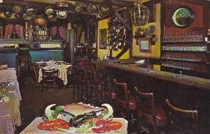 Illinois Chicago Interior Cape Cod Room Restaurant The Drake 1966