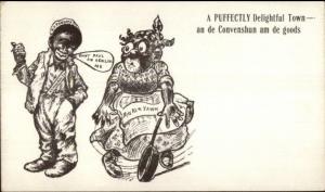Black Americana - St. Paul MN - NY Produce Convention 1906 Postcardgfz