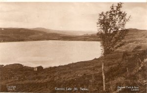 Caereini Lake.  Sarnau  Tuck Real Photograph PC # SRU 6