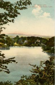 CT - New Haven - The Upper Lake, Lake Whitney