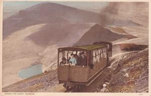 Mountain Railway at Mount Snowden - Wales, United Kingdom - DB