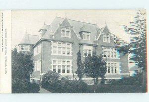 Pre-Chrome SCHOOL SCENE Hopedale - Near Milford Massachusetts MA AH0299