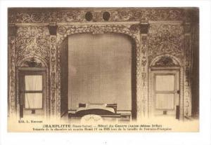 Hotel Du Centre (Ancien Chateau Grillot), Champlitte (Haute-Saône), France, ...