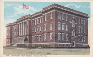 Lynchburg High School , LYNCHBURG , Virginia , 1910-20s