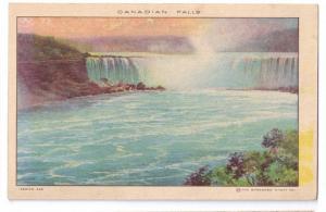 Shredded Wheat Advertising Postcard Canadian Falls Niagara NY