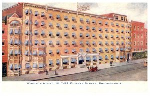 Pennyslvania Philadelphia  Windsor Hotel
