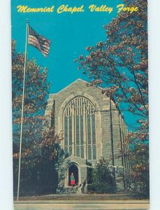 Unused Pre-1980 CHURCH SCENE Valley Forge - Philadelphia Pennsylvania PA G3589