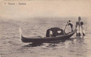 Gondola, Venezia (Veneto), Italy, 1910-1920s
