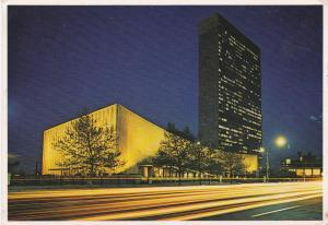 Post Card United States New York City United Nations
