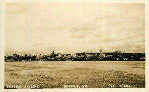 Seattle Washington Skyline #A264 RPPC Photo Postcard 21-10263