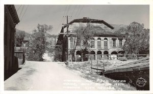 RPPC Virginia City NV Old Piper Opera House Nevada Frashers Postcard ca 1940s