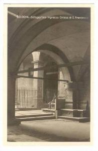 RP, Sottoportico Ingresso Chiesa Di S. Francesco, Bologna (Emilia-Romagna), I...