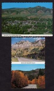 SD Lot 2 SPEARFISH SOUTH DAKOTA Postcards Black Hills
