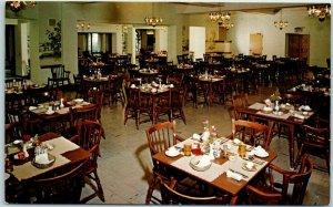 Maywood, Illinois Postcard BAPTIST RETIREMENT HOME Dining Hall View c1960s