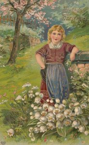 Child in field of Flowers , 00-10s
