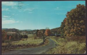 Greetings From Jasonville,IN Postcard BIN
