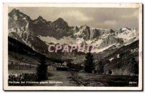 Postcard Old Hachau bei Filzmoos Gegen Dachstein