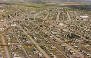Canada Aerial View Dawson Creek British Columbia
