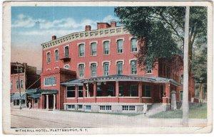 Plattsburgh, N.Y., Witherill Hotel