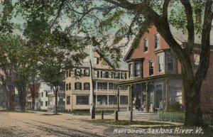 SAXTONS RIVER , Vermont , 1911 ; Main Street