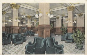 EVANSVILLE , Indiana , 1916 ;  Lobby, New Vendome Hotel
