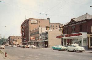 CORNWALL, Ontario, Canada, 1940-60s; Second Street looking East
