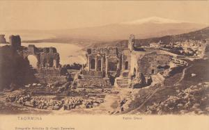 Teatro Greco, TAORMINA (Sicily), Italy, 1900-1910s