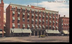 New Hampshire Concord Eagle Hotel Curteich