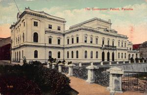 The Government Palace, Panama, Early Postcard, Unused