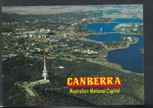 Australia Postcard - Aerial View of Canberra    RR3567