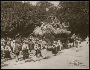 Austria 1908 Kaiser Franz Joseph Huldigungs Festival RPPC Thanksgiving Jos 94845