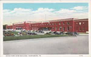 Pennsylvania Harrisburg State Farm Show Building Curteich