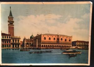 Postcard Used Venice Italy LB