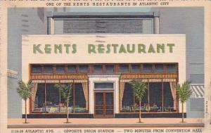New Jersey Atlantic City one Of The Kents Restaurantys In Atlantic City 1943